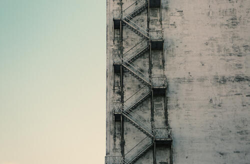2014-07-life-of-pix-free-stock-photos-montreal-quebec-wall-sky-stairwell-stairs