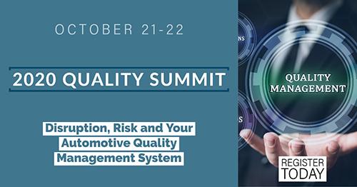 2020 Quality Summit - blog