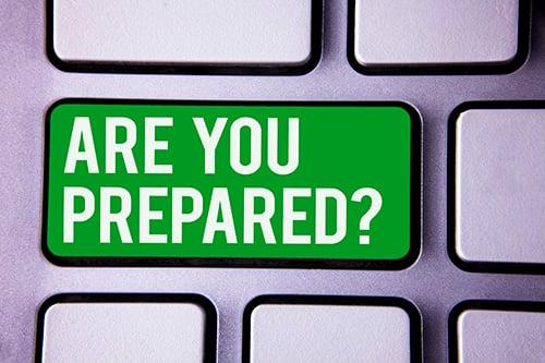 are you prepared - blog