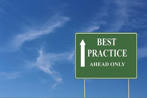 best practice sign-blog