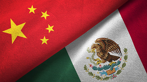 china and mexico flags - blog