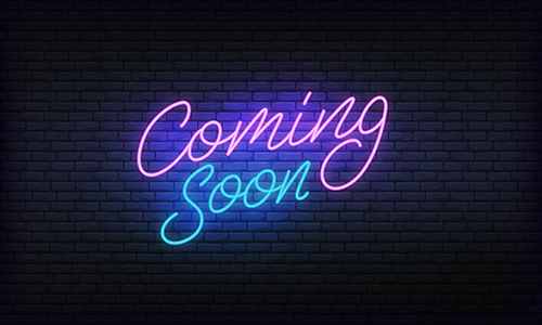 coming soon - blog