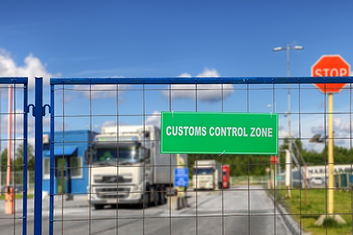 customs control zone-blog