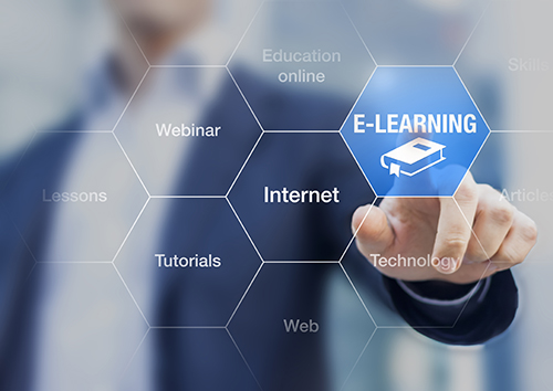 eLearning concept - blog