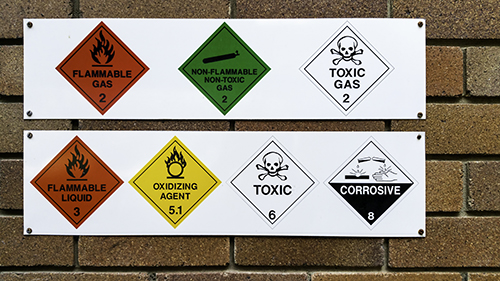 flammable signs - blog