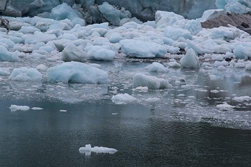 glacier melt - blog