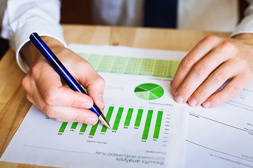 green charts - blog