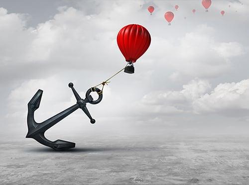 hot air balloon anchor - blog