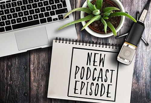 new podcast - blog
