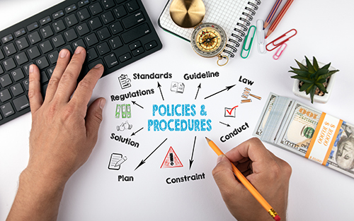 policies and procedures - blog