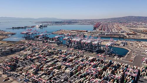 port of long beach and LA - blog
