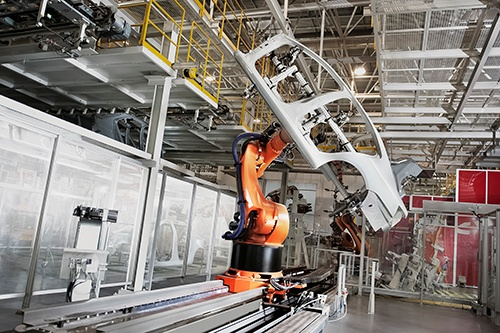 robotic arm and car door-blog