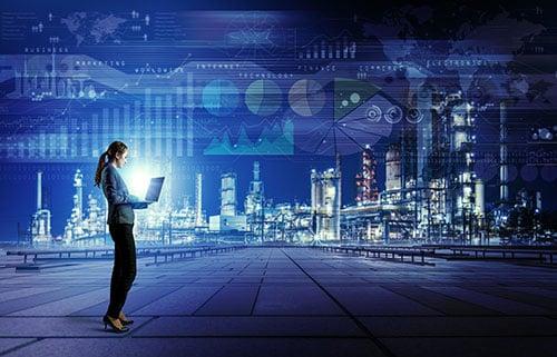 smart factory woman - blog