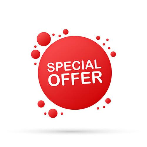 special offer - blog
