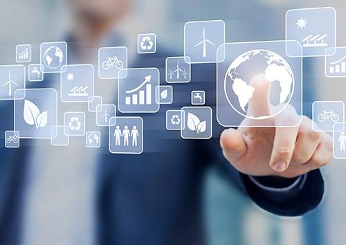 sustainable development button-blog