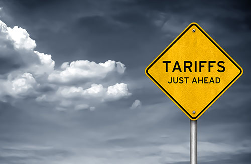 tariffs ahead - blog