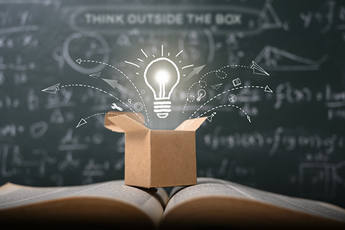 think outside the box - blog