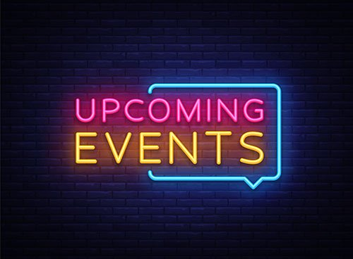 upcoming events - blog
