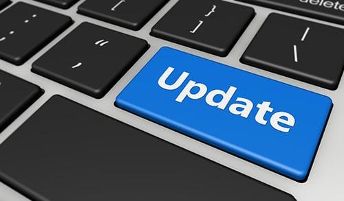 update keyboard - blog