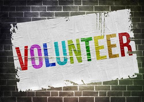 volunteer stencil - blog