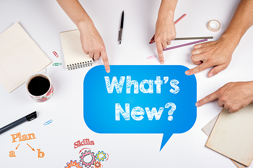 whats new - blog