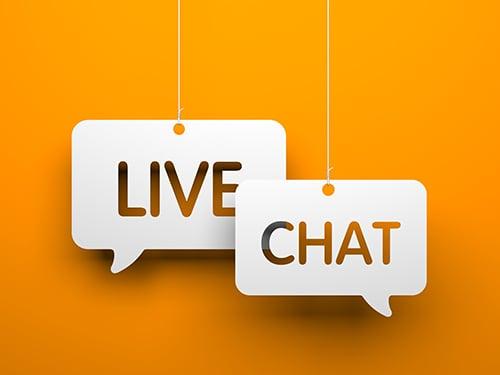 live chat - blog
