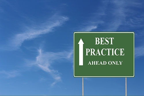 best practice sign-blog