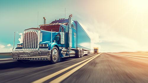 blue truck - blog