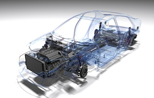 car wireframe - blog