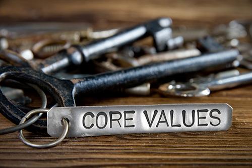 core values key-blog