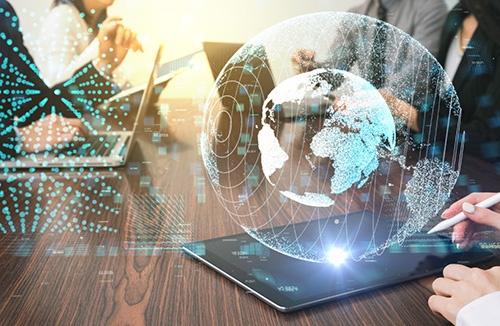 holographic globe-blog