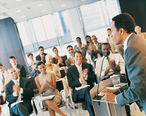 speaker at event blog