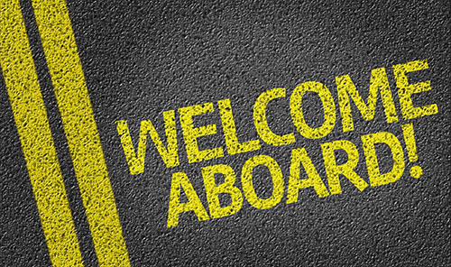 welcome aboard street - blog