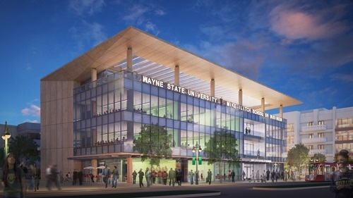 Mike Ilitch School of Business Conceptual Rendering