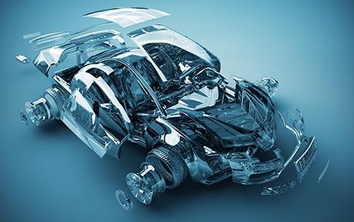 transparent car exploded-blog